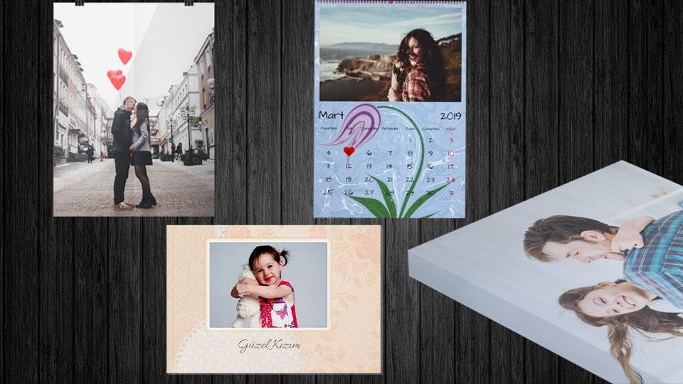 Fotoğraflı hediyelik ürünler