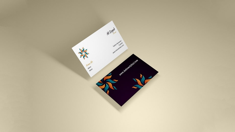 How should a business card be?