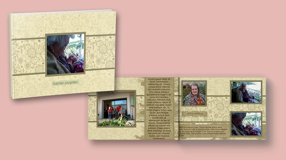 Kişiye özel resimli kitap