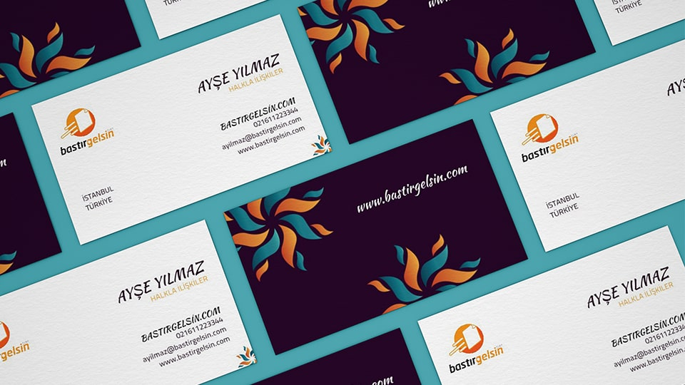 How to make business card design online?