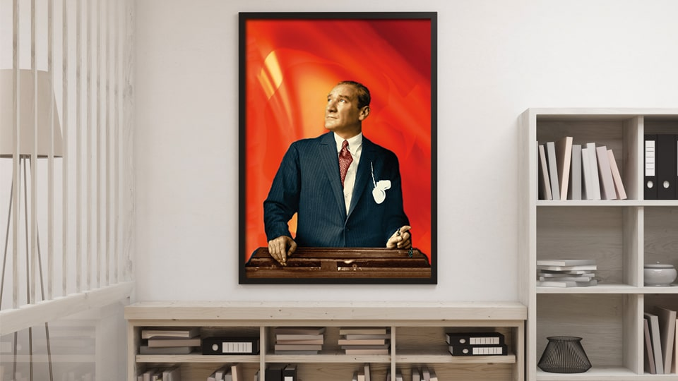 Atatürk posteri hazırlama