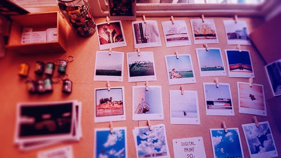 Polaroid fotoğraf baskı